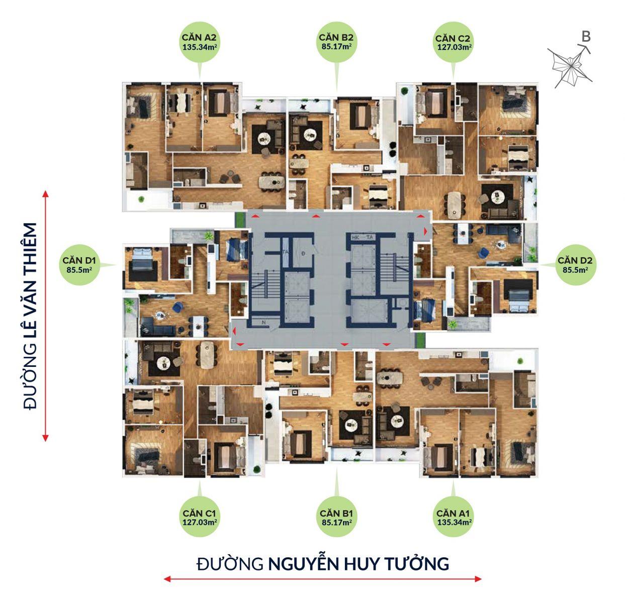 Chung cư Bohemia Residence