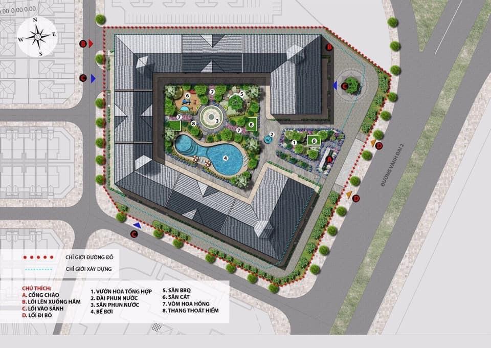 Chung cư The Lotus Center